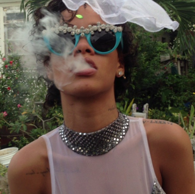 Rihanna Goes Wild For Carnival in Barbados