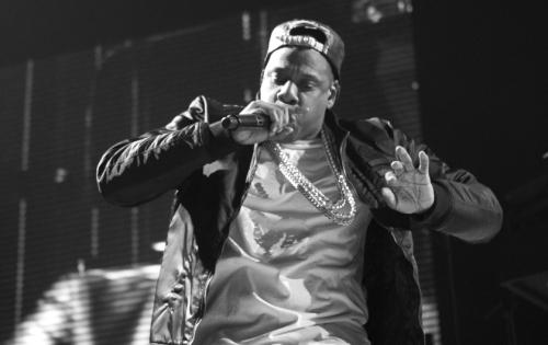 Jay-Z stage