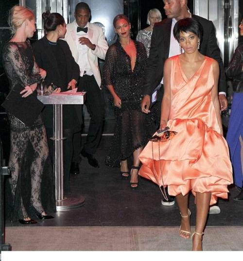 Jay Z Solange Fight